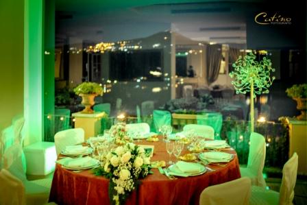 Sala delle Vetrate - Verde con Sfondo